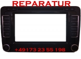 VW Sharan RNS 510 Navigation LCD Touch Weiß Display Reparatur