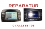 Mercedes Benz Display Reparatur Command 2.5  APS NTG1 NTG2 Hell Schwarz Defekt